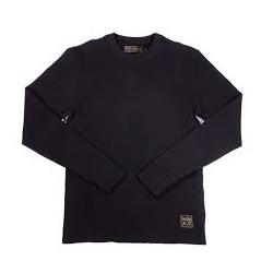 Camiseta Wrenchmonkees - waffle tee negro