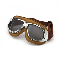 Gafas Bandit Classic Silver Smoke Goggles