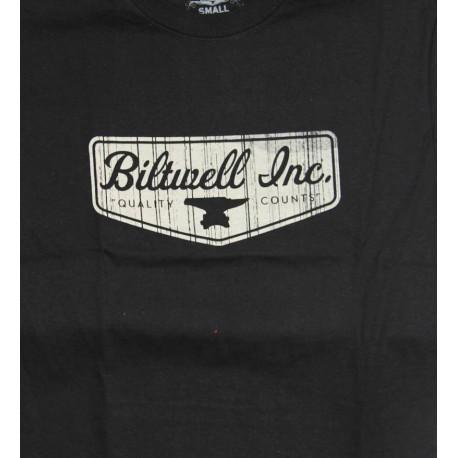 Camiseta Biltwell negra logo