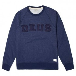 Sweater Deus Ex Machina Walter Applique - navy