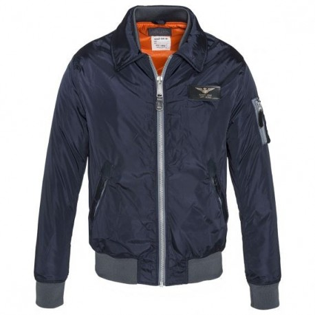 Chaqueta Schott Flight 170 azul