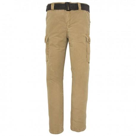 Pantalon Schott Cargo Militaire - beige