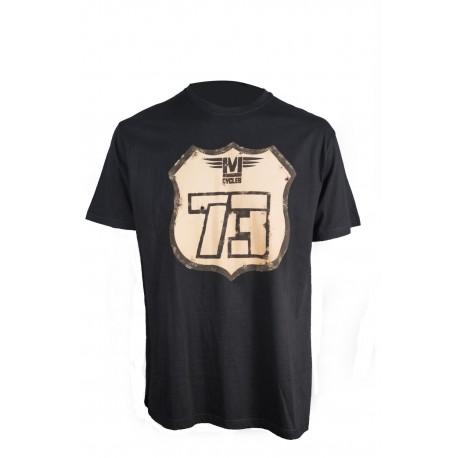 Camiseta MonegrosCycles Road Love Negra