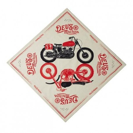 Bandana Deus Ex Machina Carby art crema