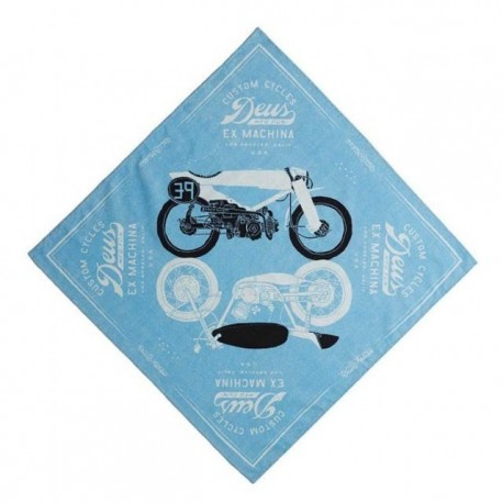 Bandana Deus Ex Machina Carby azul