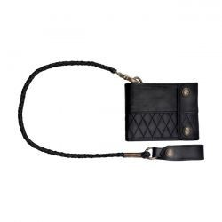Cartera ROLAND SANDS - RIVERSIDE WALLET NEGRA