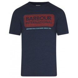 Camiseta Barbour International Logo Navy