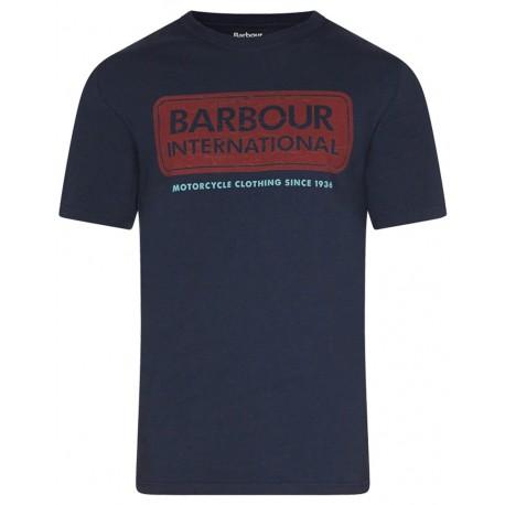 Camiseta Barbour International Logo