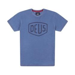 Camiseta Deus Ex Machina Shield Indigo - MonegrosCycles