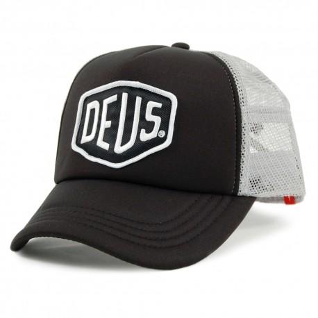 Deus Ex Machina Baylandds Trucker black grey