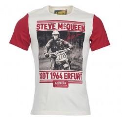 Camiseta Barbour STEVE McQUEEN Burnout