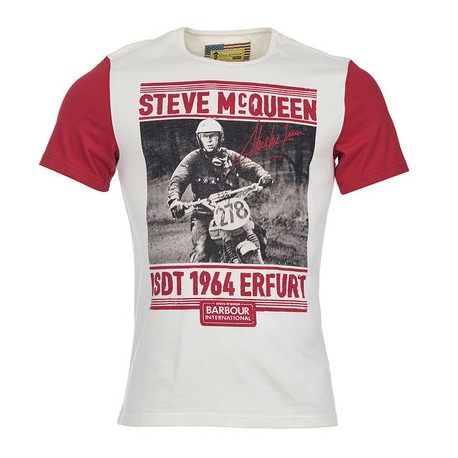 Camiseta Barbour STEVE McQUEEN Burnout