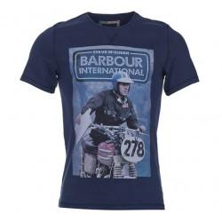 Camiseta Barbour STEVE McQUEEN Control - MonegrosCycles