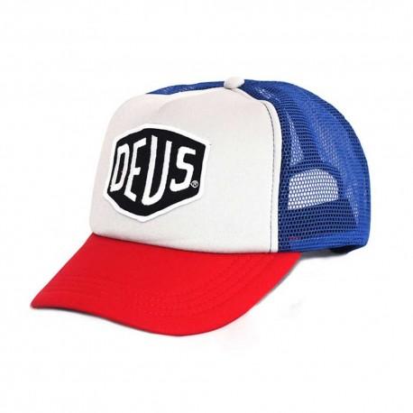 Deus Ex Machina Baylands Trucker red and blue