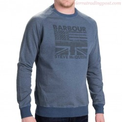 Barbour Steve McQueen Flags Crew -MonegrosCycles