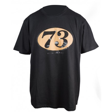 Camiseta MonegrosCycles Vintage Racer negro
