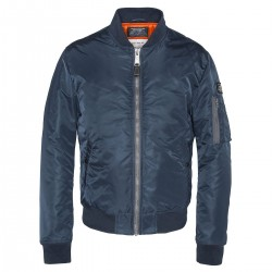 Bomber Schott Airforce1 navy - MonegrosCycles