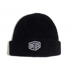 Shield Beanie Deus Ex Machina - black