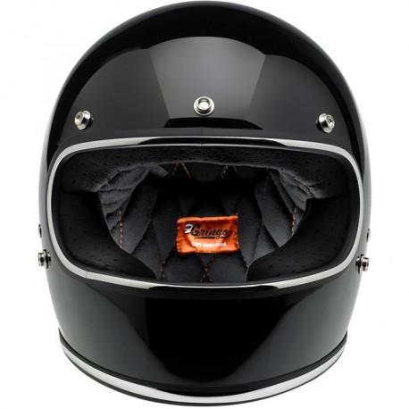 Biltwell Gringo Black gloss helmet