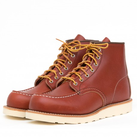 Red Wing Moc Toe 8131 - MonegrosCycles