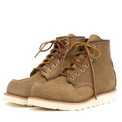 Red Wing Moc Toe 8881
