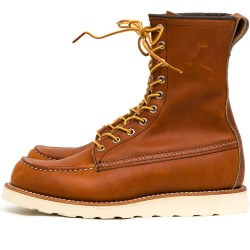 Red Wing Moc Toe 877 Oro Legacy - MonegrosCycles