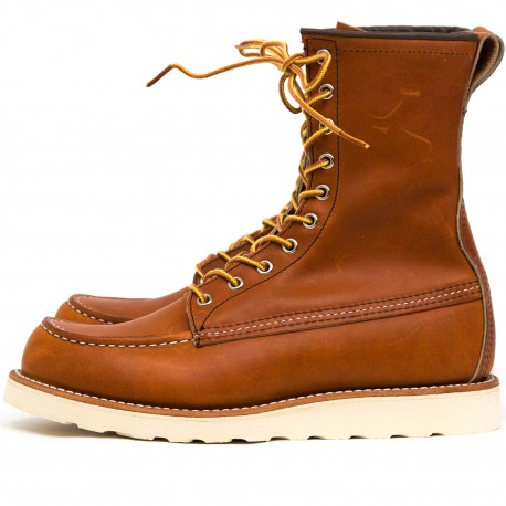 Red Wing Moc Toe 877 Oro Legacy