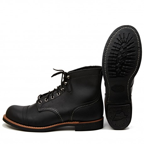 Red Wing Iron Ranger Black Harness 8084