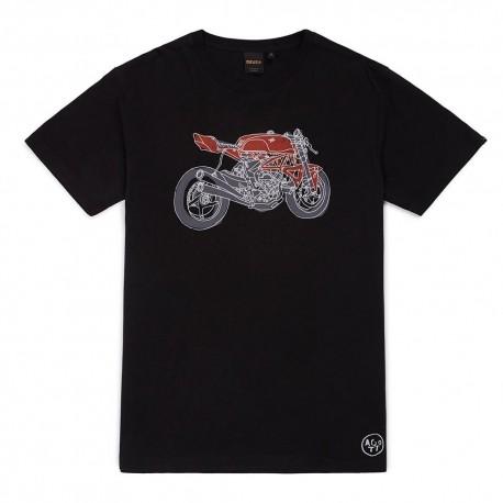 Camiseta Deus Ex Machina Camperdown Skull