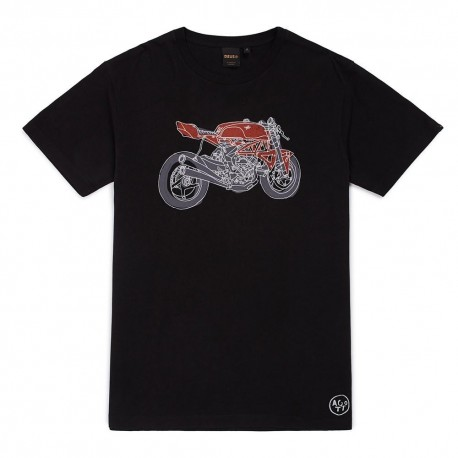 Camiseta Deus Ex Machina MV - MonegrosCycles