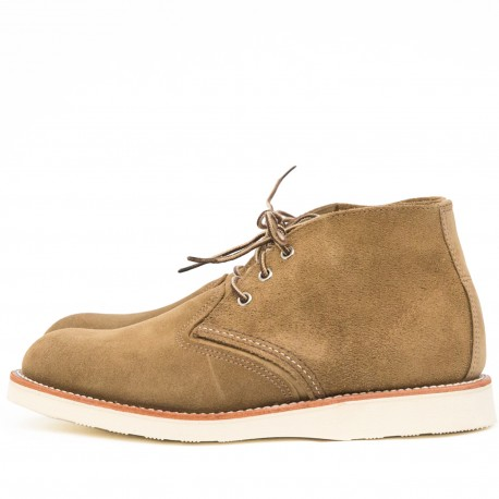 Red Wing Chukka Olive 3149 - MonegrosCycles