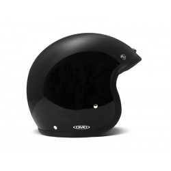 Casco DMD negro brillante - MonegrosCycles