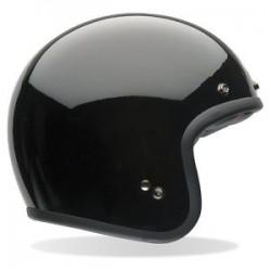Bell open face helmet - black gloss