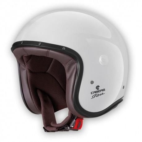 Caberg Freeride white jet helmet