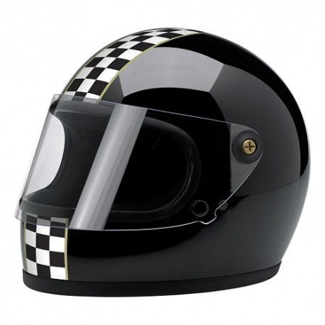 Casco Biltwell Gringo checker - MonegrosCycles