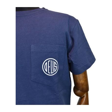 Camiseta Deus Ex Machina Oly Pocket navy