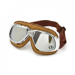 Gafas Bandit Classic Silver mirrored Goggles