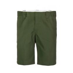 """Pantalón corto Dickies slim fit verde oliva 11"""""""