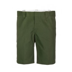 Short Dickies slim fit olive green 11""