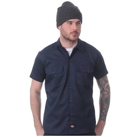 Camisa Dickies SLIM FIT Azul marino