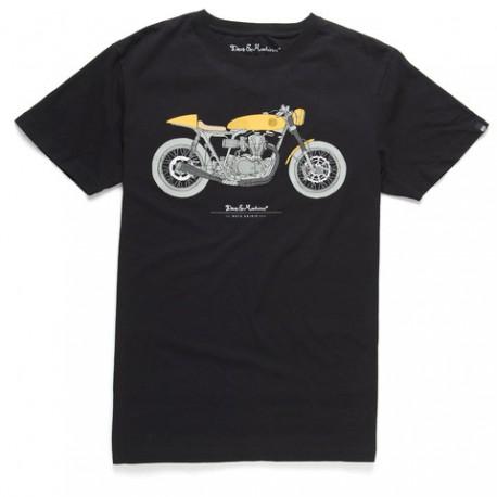 Camiseta Deus Moto Grigio